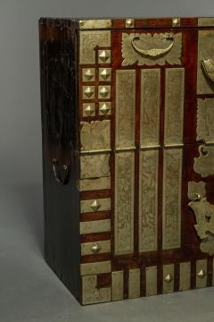 Korean Hardwood Blanket Chest - 496653