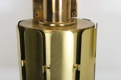 Kosthantverk Tyringe Pair of Swedish Midcentury Wall Lamps in Brass by Tyringe Konsthantverk 1960s - 835561