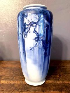 Kozan Makuzu A Large Japanese Blue and White Vase by Mazuku Kozan Meiji Period - 1066120