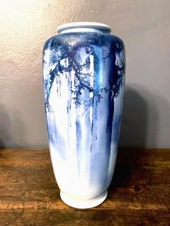Kozan Makuzu A Large Japanese Blue and White Vase by Mazuku Kozan Meiji Period - 1066122