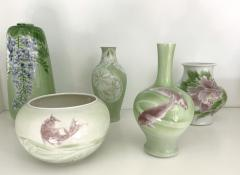 Kozan Makuzu Fine Japanese Ceramic Vase Makuzu Kozan Meiji Period - 1836930