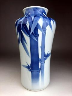 Kozan Makuzu Japanese Porcelain Vase Makuzu Kozan Meiji Period - 1164851