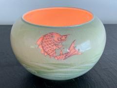Kozan Makuzu Rare Porcelain Bowl with Plique a Jour Design by Makuzu Kozan - 1119464