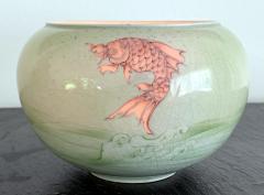 Kozan Makuzu Rare Porcelain Bowl with Plique a Jour Design by Makuzu Kozan - 1119466