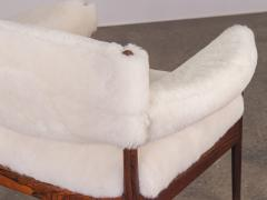 Kristian Solmer Vedel Pair of Kristian Vedel Sheepskin Modus Lounge Chairs - 916315