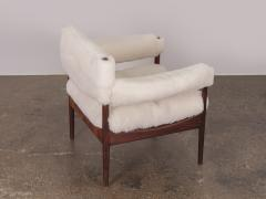 Kristian Solmer Vedel Pair of Kristian Vedel Sheepskin Modus Lounge Chairs - 916317