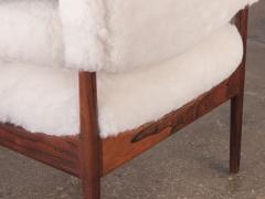 Kristian Solmer Vedel Pair of Kristian Vedel Sheepskin Modus Lounge Chairs - 916318