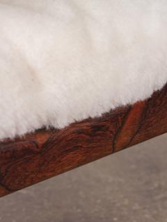 Kristian Solmer Vedel Pair of Kristian Vedel Sheepskin Modus Lounge Chairs - 916322