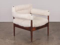 Kristian Solmer Vedel Pair of Kristian Vedel Sheepskin Modus Lounge Chairs - 916323