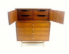 Kroehler Mfg Co Mid Century Modern Walnut Highboy Dresser - 1653801