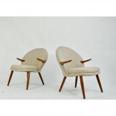 Kurt Olsen Pair of Kurt Olsen Danish Teak Lounge Chairs - 1732598