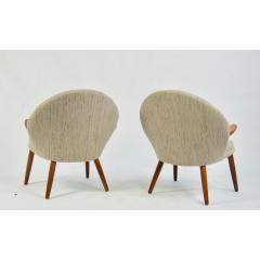 Kurt Olsen Pair of Kurt Olsen Danish Teak Lounge Chairs - 1732599