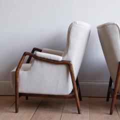 Kurt Olsen Pair of Kurt Olsen Wingback Chairs - 792170