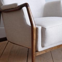 Kurt Olsen Pair of Kurt Olsen Wingback Chairs - 792172