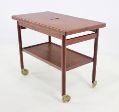 Kurt Ostervig Expansive Danish Modern Tea Cart Designed by Kurt Ostervig - 438721