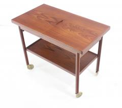 Kurt Ostervig Expansive Danish Modern Tea Cart Designed by Kurt Ostervig - 438722