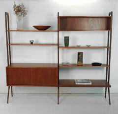 Kurt Ostervig Freestanding Danish Modern Bookshelf in Teak - 398666