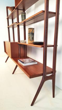 Kurt Ostervig Freestanding Danish Modern Bookshelf in Teak - 398667