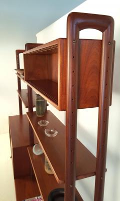 Kurt Ostervig Freestanding Danish Modern Bookshelf in Teak - 398669