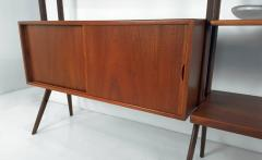 Kurt Ostervig Freestanding Danish Modern Bookshelf in Teak - 398670