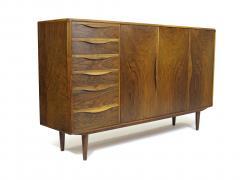 Kurt Ostervig Kurt Ostervig for Brande Mobelfabrik Burled Walnut Cabinet - 1053802