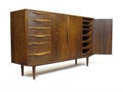 Kurt Ostervig Kurt Ostervig for Brande Mobelfabrik Burled Walnut Cabinet - 1053809