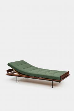 Kurt Thut Kurt Thut Daybed with in green covered mattress 1960 - 1938002