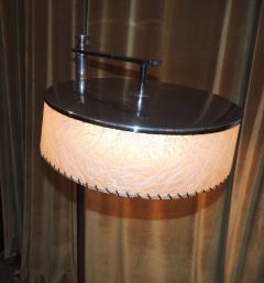 Kurt Versen Convertible Mid Century Deco Floor Lamp by Kurt Versen - 424465