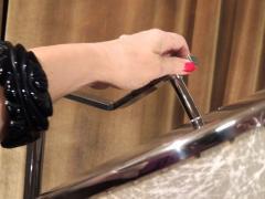 Kurt Versen Convertible Mid Century Deco Floor Lamp by Kurt Versen - 424468