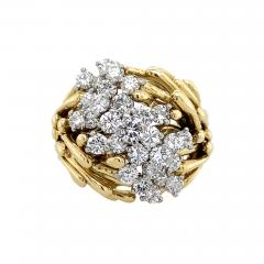 Kurt Wayne Kurt Wayne Diamond Organic Cocktail Ring - 1118764