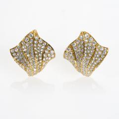 Kurt Wayne Kurt Wayne Diamond and Gold Earrings - 143566