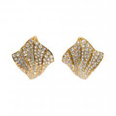 Kurt Wayne Kurt Wayne Diamond and Gold Earrings - 144048