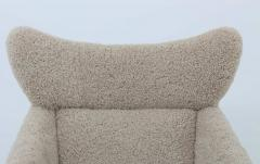 Kurt stervig Danish Lounge Chair in Sheepskin Model 55 by Kurt stervig - 1143490