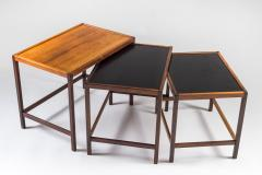 Kurt stervig Danish Mid Century Nesting Tables in Rosewood by Kurt stervig - 959304