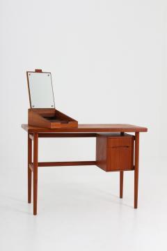 Kurt stervig Danish Vanity Table or Desk in Teak by Kurt stervig Denmark - 1143539