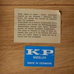 Kurt stervig KURT OSTERVIG KP MOBLER OAK TABLE - 748364