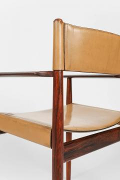 Kurt stervig Kurt Ostervig 4 Kurt Ostervig armchair No 414 for Sibast Furniture 60s - 1856759