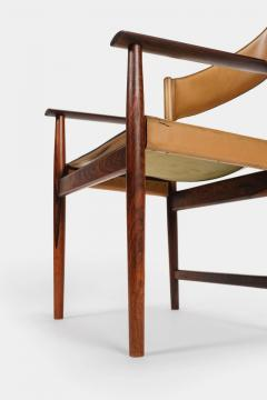 Kurt stervig Kurt Ostervig 4 Kurt Ostervig armchair No 414 for Sibast Furniture 60s - 1856784