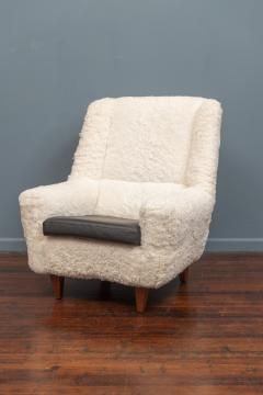 Kurt stervig Kurt Ostervig Kurt Ostervig Lounge Chair Model 61 in Lambswool - 1934615