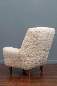 Kurt stervig Kurt Ostervig Kurt Ostervig Lounge Chair Model 61 in Lambswool - 1934621