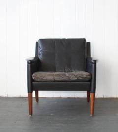 Kurt stervig Kurt stervig Leather Lounge Chair and Ottoman - 378297
