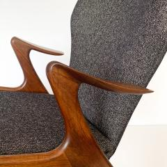 Kurt stervig Pair of Kurt Ostervig Sculptural Lounge Chairs - 1154421