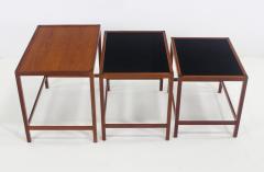 Kurt stervig Set of Scandinavian Modern Nesting Tables Designed by Kurt Ostervig - 983958