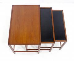 Kurt stervig Set of Scandinavian Modern Nesting Tables Designed by Kurt Ostervig - 983959