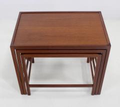 Kurt stervig Set of Scandinavian Modern Nesting Tables Designed by Kurt Ostervig - 983961