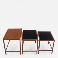 Kurt stervig Set of Scandinavian Modern Nesting Tables Designed by Kurt Ostervig - 984990