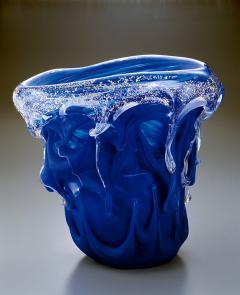 Kyohei Fujita Japanese Art Glass Sculptural Vessel by Kyohei Fujita - 1854589