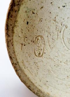 Kyusetsu Miwa X Hagi Ikebana Vase by Kyusetsu Miwa X Japanese Studio Pottery - 1079727