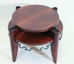 L on Jallot Art Deco Smoking Table by Leon Maurice Jallot - 1487902