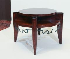 L on Jallot Art Deco Smoking Table by Leon Maurice Jallot - 1487903